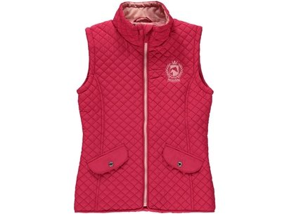 Girls Quilted Gilet