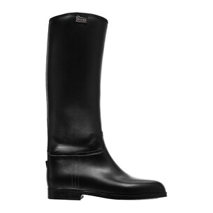 Mens Long Rubber Riding Boots