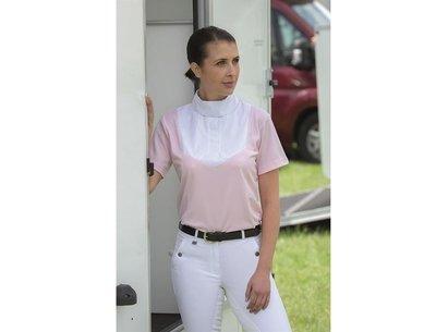 Short Sleeve Stock Ladies Shirt
