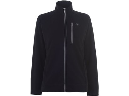 Basis Full Zip Ladies Fleece - Black