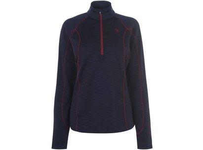 Conquest 1/2 Zip Ladies Sweatshirt - Navy