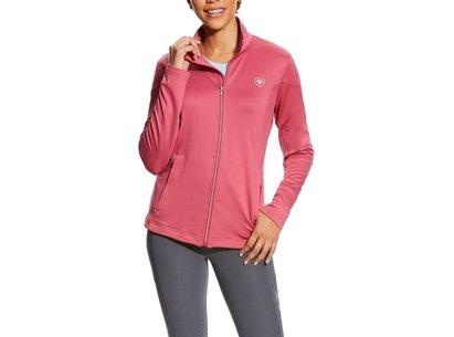 Tolt Full Zip Ladies Sweatshirt - Rose Violet