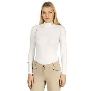 Ladies Baselayer Long Sleeve - White