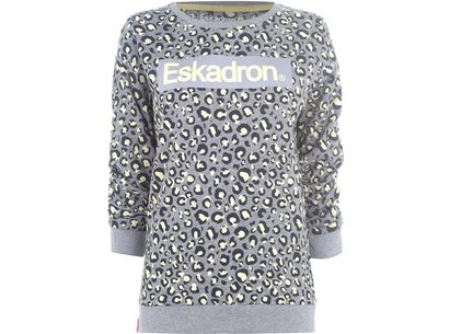 Ladies Print Sweater