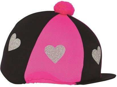 Love Heart Glitter Hat Cover
