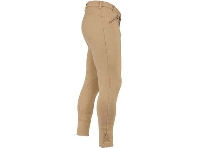SaddleHuggers Mens Breeches - Beige