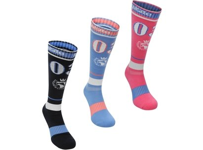 Socks 3 Pack Ladies