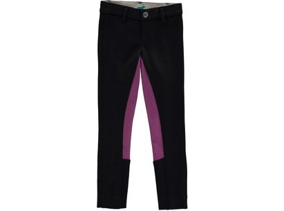 Two Tone Maids Jodhpurs - Black/Purple