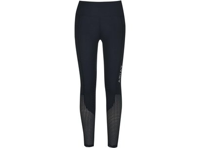 Eos Knee Patch Youth Riding Tights - Navy