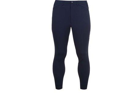 Tri Factor Mens Grip Knee Patch Breeches - Navy
