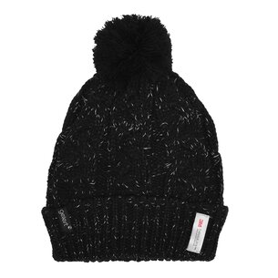 Lurex Pom Pom Hat Ladies