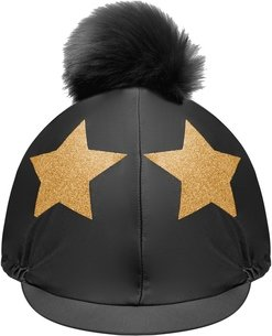 Glitter Star Hat Cover Womens
