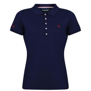 Ladies Lily Cap Sleeve Polo - True Navy