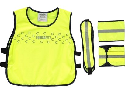 Equisafety Eco Range High Vis Set Childs