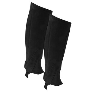 Shires Amara Childrens Half Chaps - Black