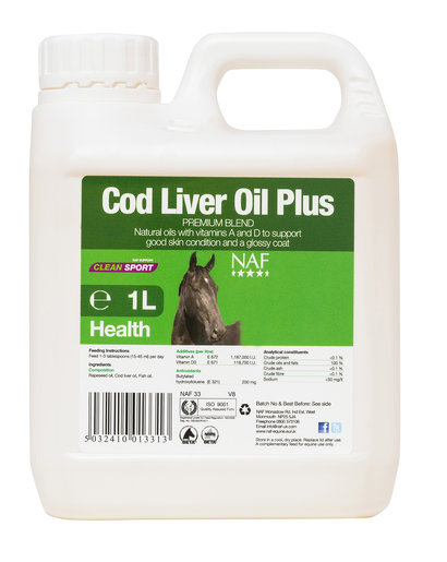 NAF Its Not Cod Liver Oil