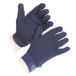 Shires Junior Newbury Gloves - Navy
