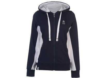 Hurlingham Polo 1875 Lorna Zip Hoody Ladies