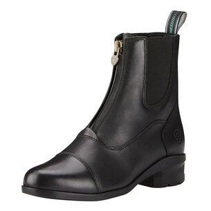 Ariat Heritage IV Zip Ladies Paddock Boots - Black