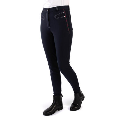 Requisite Brayton Full Seat Ladies Breeches - Navy