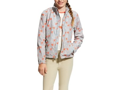 Ariat Laurel Girls Jacket - Coastal Grey