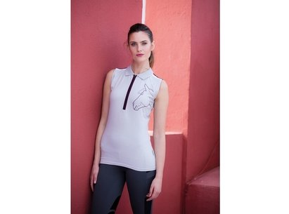 Horseware Flamboro Sleeveless Ladies Poloshirt