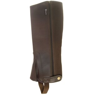 Requisite Childs Synthetic Half Chaps - Brown