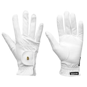 Roeckl Grip Gloves - White