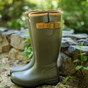 Ariat Burford Ladies Wellington Boots - Olive Green