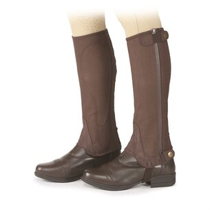 MORETTA Amara Half Chaps Ladies Brown