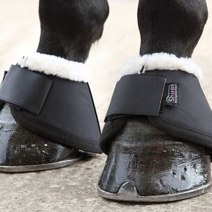 Shires Fleece Over Reach Boots