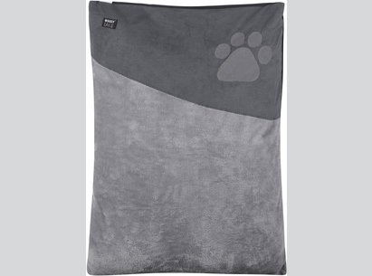 Waggy Tails Paw Print Pet Bed