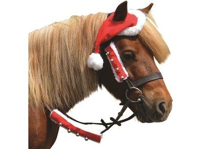 Battles Christmas Santa Horse Hat