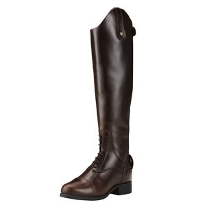 Ariat Bromont Pro Tall H20 Insulated Ladies Riding Boots - Waxed Chocolate