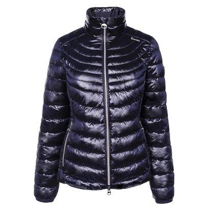 Cavallo Ladies Sarabi Lightweight Quilted Jacket - Dark Blue