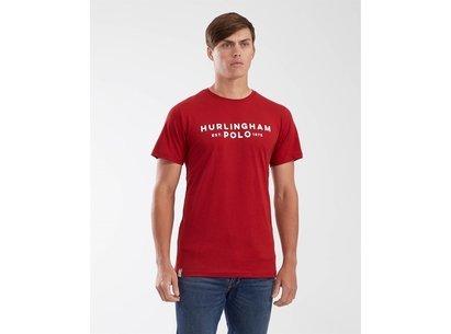 Hurlingham Polo 1875 Mens Essential Graphic T-Shirt