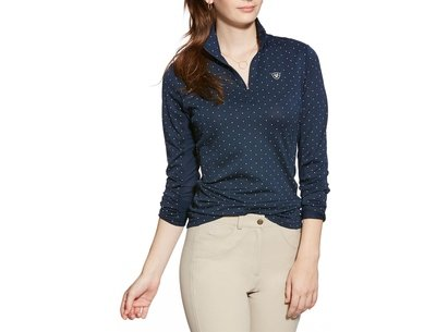 Ariat Sunstopper Quarter Zip Top