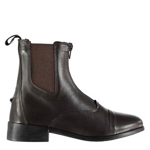 Dublin Ladies Elevation II Zip Paddock Boots - Brown