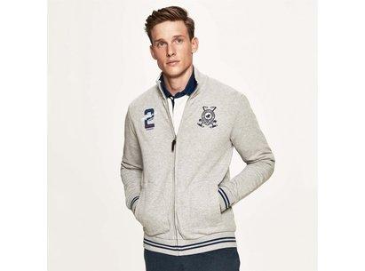 Hackett Full Zip Sweat Jacket Mens