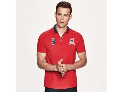 Hackett Snow Polo Shirt Mens