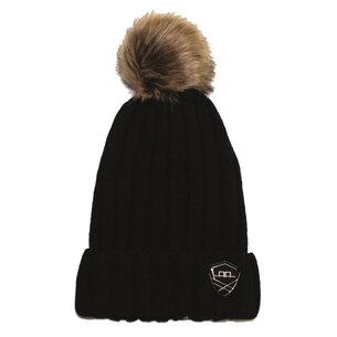 AA Platinum Wool Pom Pom Hat Ladies