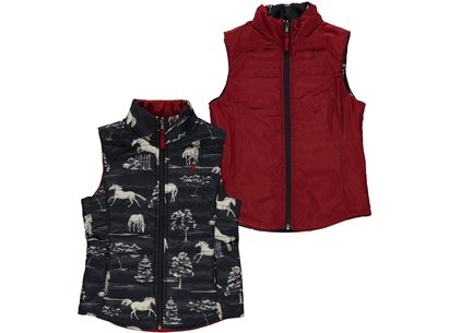 Ariat Emma Reversible Gilet Girls