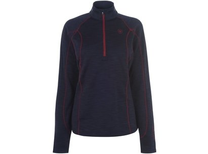 Ariat Conquest 1/2 Zip Ladies Sweatshirt - Navy