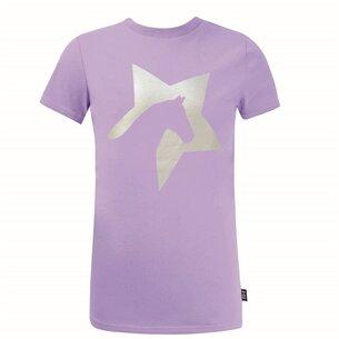 Battles Fashion Girls Zeddy Glitter T Shirt
