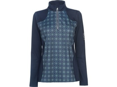Requisite Ladies Zip Tech Top