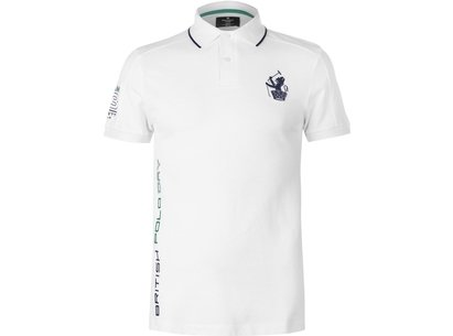 Hackett Pique Polo Shirt Mens