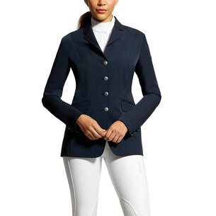 Ariat Palladium Ladies Show Coat - Navy