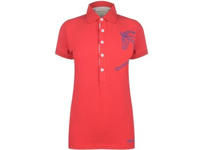 Horseware UK Flamborough Polo Shirt Ladies