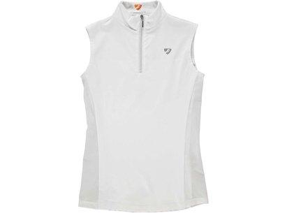 Aubrion Junior Girls Sleeveless Competition Shirt