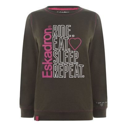 Eskadron Ladies Print Sweater